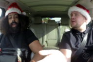 James Corden Gets Every One of His Carpool Karaoke Passengers to Belt 'Joy to the World'
