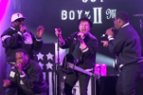 Fall Out Boyz II Men Are Jimmy Kimmel's Latest 'Mash Up Monday' Connection