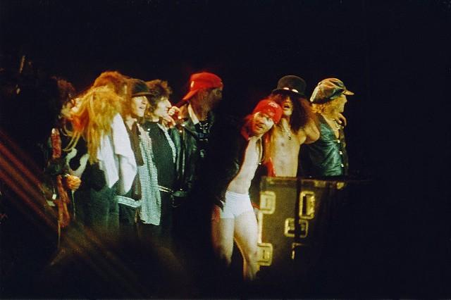 Guns n' Roses Perform At The National Bowl, Milton Keynes In 1993