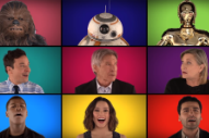 Jimmy Fallon Gets 'Star Wars' Cast (Even Harrison Ford) to Sing A Cappella Medley