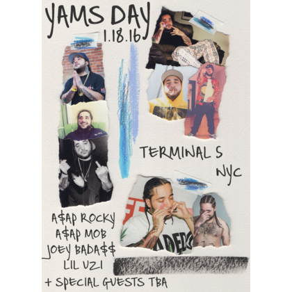 A$AP Rocky, Joey Bada$$, and More to Throw A$AP Yams Tribute Concert