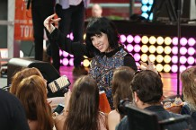 Carly Rae Jepsen Performs On NBC's