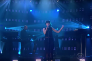 CHVRCHES Turn 'Clearest Blue' Into Sheerest Bliss on 'Late Late Show'