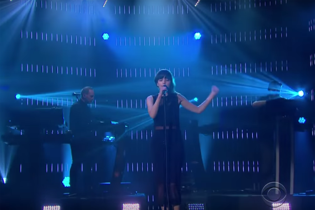 chvrches-clearest-blue-late-late-show-video