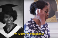 Watch Michelle Obama Lay Down Sick Bars About College in Her New Music Video