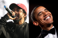 Barack Obama's Favorite Song of 2015 Was Kendrick Lamar's 'How Much a Dollar Cost'