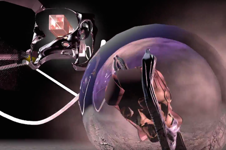 Oneohtrix Point Never Builds A Virtual Chimera In The Video For Repossession Sequence Spin