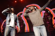 Pharrell Performed 'Alright' With Kendrick Lamar
