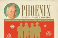 Phoenix Team Up With Bill Murray for Quirky New Carol, 'Alone on Christmas Day'