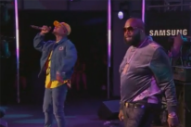 Rick Ross and Chris Brown Bust Out 'Sorry' and 'Back to Sleep' on 'Kimmel'