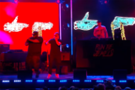 Run the Jewels Bring the Fire to 'Jimmy Kimmel Live'