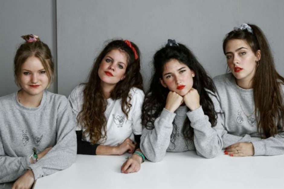 Hinds The Crimson And Clover Girl Gang Spin