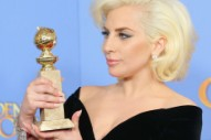 Lady Gaga Wins Golden Globe, Teases New Album
