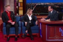 Iggy Pop and Josh Homme on 'Colbert'