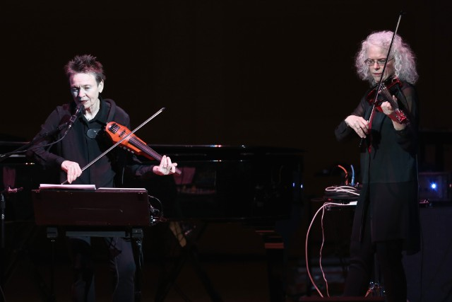 Laurie Anderson at the Tibet House Benefit Concert 2015