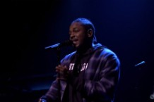Kendrick Lamar on the Tonight Show with Jimmy Fallon