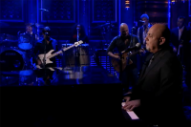 Billy Joel Performs 'Scenes From an Italian Restaurant' and Covers the Rolling Stones on 'Fallon'