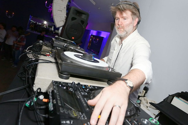 Lexus Pop-Up Concert Series Powered By Pandora Featuring James Murphy DJ Set (DFA/LCD Soundsystem)