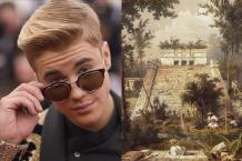 Justin Bieber Mayan Temple