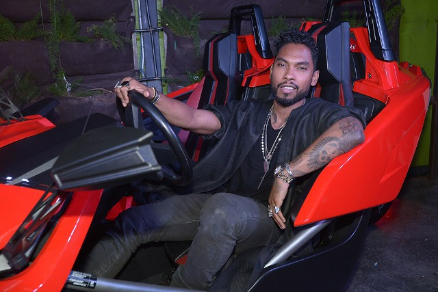 Polaris Slingshot At The Fifth Annual Mark Pitts Official BET Awards After Party