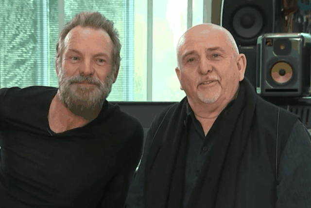 Peter Gabriel And Sting Tour