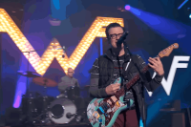 Weezer 'Thank God For Girls' and Ask 'Do You Wanna Get High?' on 'Kimmel'