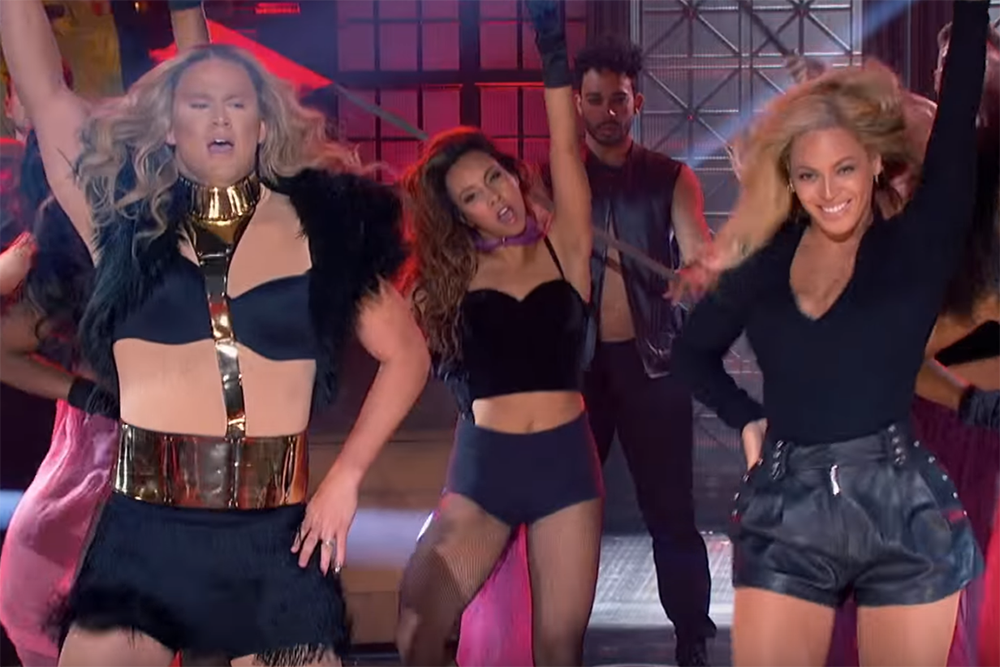 Beyoncé Helps Out Channing Tatum Perform 'Run the World (Girls)' on Hilarious 'Lip Sync Battle'