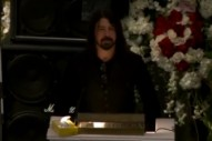 Watch Dave Grohl's Eulogy to His 'Hero,' Lemmy Kilmister