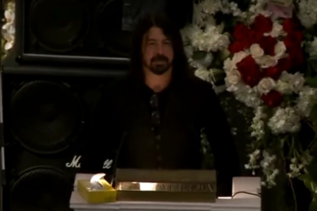Dave Grohl's Eulogy