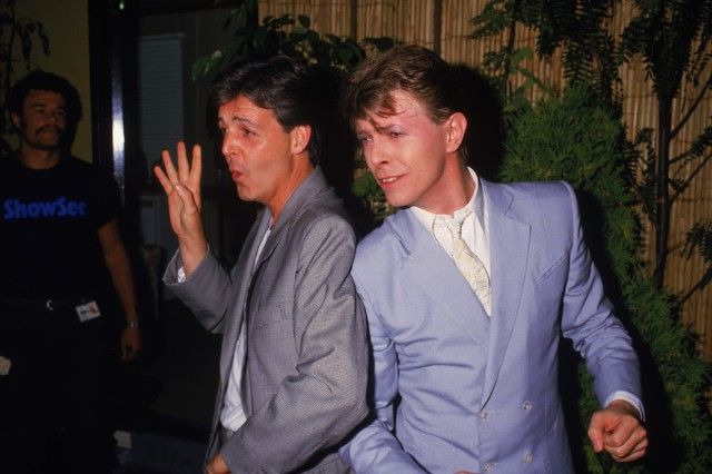 Following The Sad News Of David Bowies Death Late Sunday Night Sir Paul McCartney Posted A Brief Remembrance Their Friendship On His Instagram