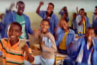 Ethiopian Children Learning English Cover 'Smells Like Teen Spirit' for Dave Grohl's Birthday