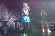 Grimes Performs Two 'Art Angels' Songs Live for the First Time, Covers 'Ave Maria'