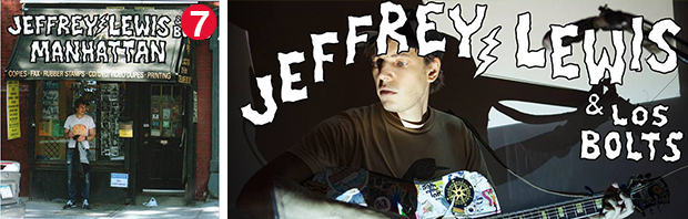 Jeffrey Lewis and Les Bolts' Manhattan