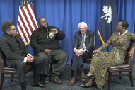 Watch Killer Mike, Bernie Sanders, Cornel West & Nina Turner Discuss MLK Jr.'s Legacy