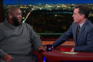 Killer Mike Discusses Barbershops, Bernie Sanders, and Parent-Teacher Meetings on 'Colbert'