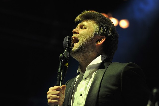 LCD Soundsystem Performs At Madison Square Garden