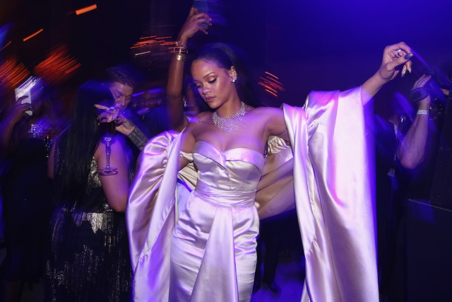Rihanna and The Clara Lionel Foundation Host 2nd Annual Diamond Ball - Inside