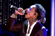Wiz Khalifa Had Some Words for Kanye West During a Concert Last Night; They Were 'F**k Kanye'