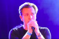 Ewan McGregor Performs 'Heroes' at Los Angeles David Bowie Tribute