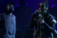 The Weeknd Actually Does Bring Out Lauryn Hill for 'In the Night' on 'Fallon'