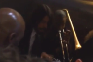 Watch Dave Grohl and Preservation Hall Jazz Band Play in a Grammys Elevator