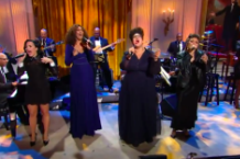 Demi Lovato, Andra Day, Brittany Howard and Yolanda Adams