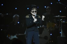 Yoko Ono at Imagine: John Lennon 75th Birthday Concert