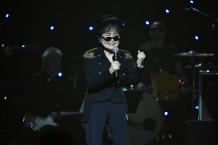 Yoko Ono at Imagine: John Lennon 75th Birthday Concert