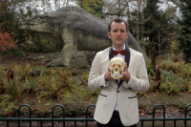Baio Strolls Through the Park With a Human Skull in 'The Names' Video