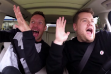 Coldplay James Corden