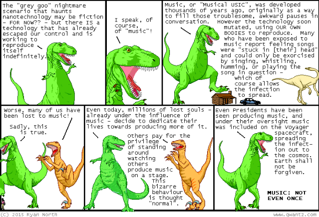 Dinosaur Comics Ryan North