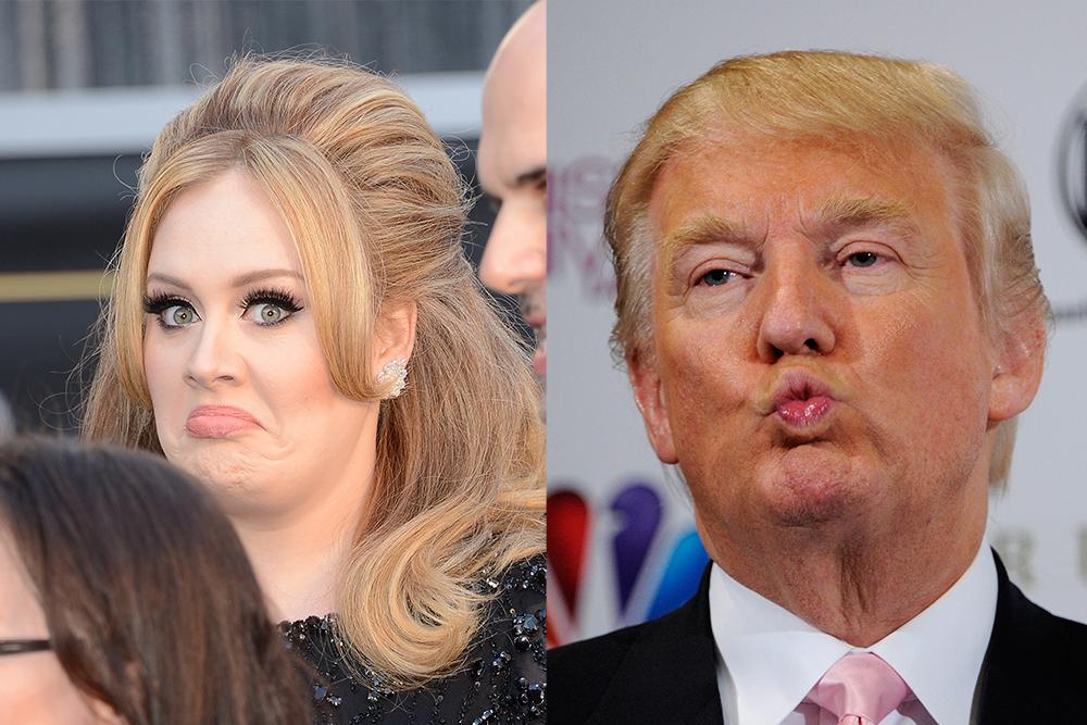 Donald Trump Adele