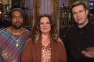 Kanye West Does Not Speak a Word in 'Saturday Night Live' Promo
