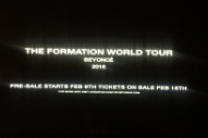 Beyoncé Announces 'Formation World Tour' After Jaw-Dropping Super Bowl Halftime Show